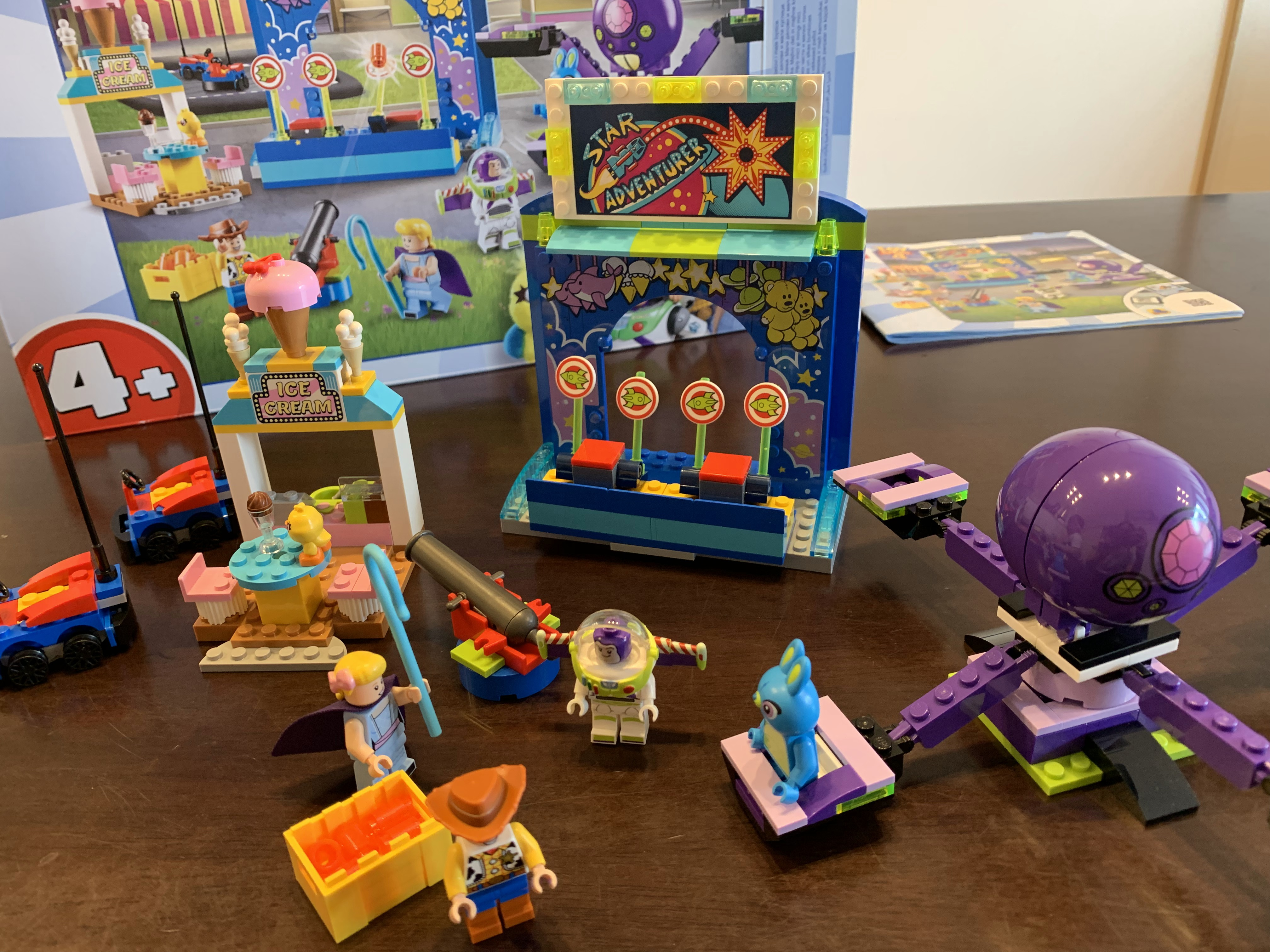 トイストーリーのレゴ (LEGO) はトイストーリー4の世界観があって楽しい
