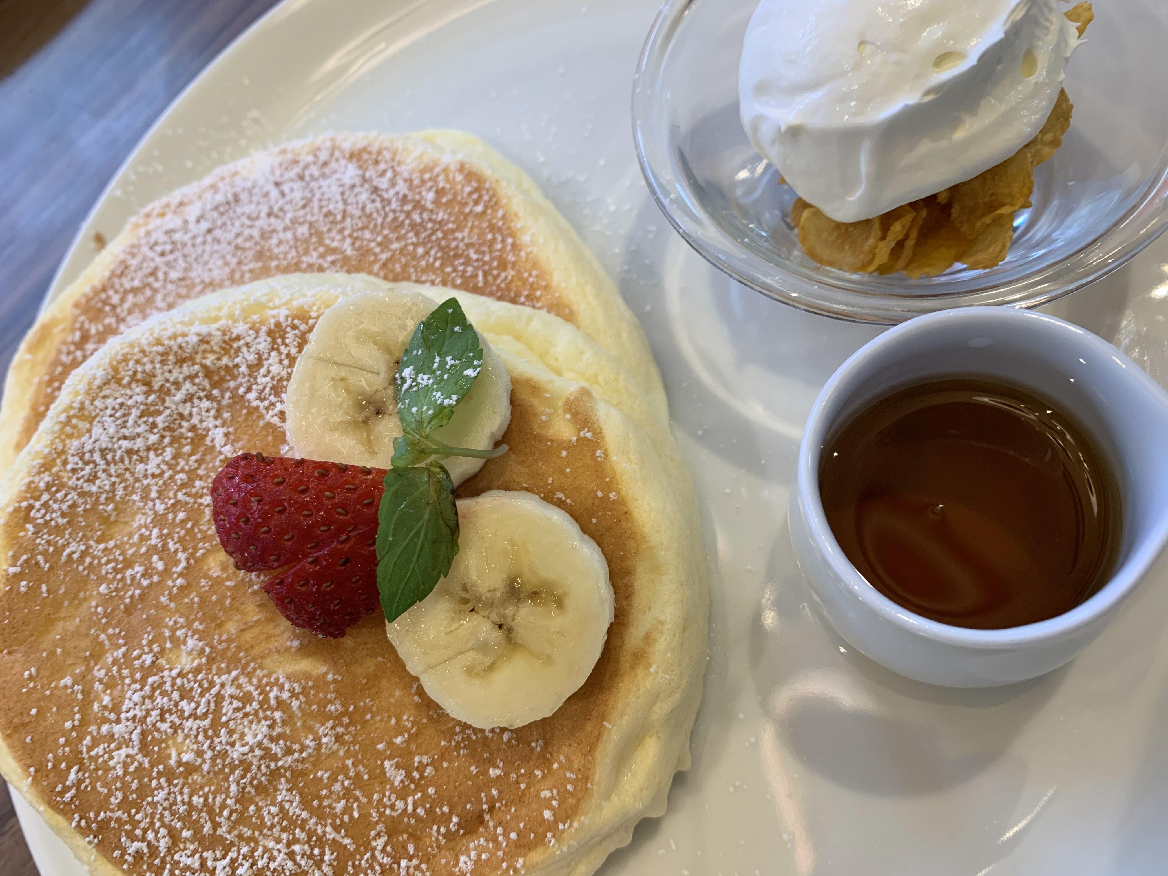 高倉町珈琲のパンケーキは美味しい?〇〇珈琲店スイーツ食べ歩きブログ03
