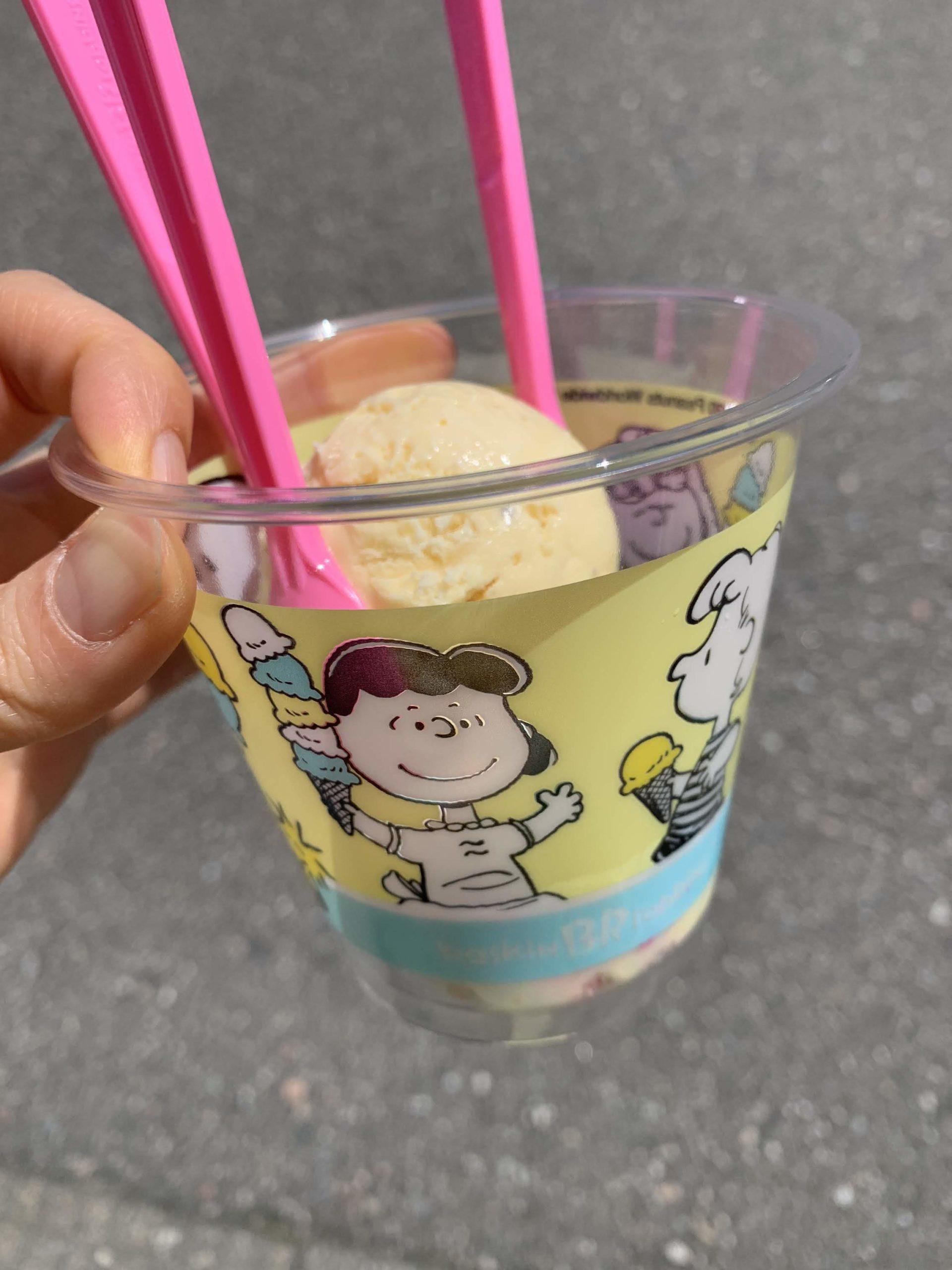 31アイスクリームのスヌーピーコラボ2020:値段はいくら?味の感想