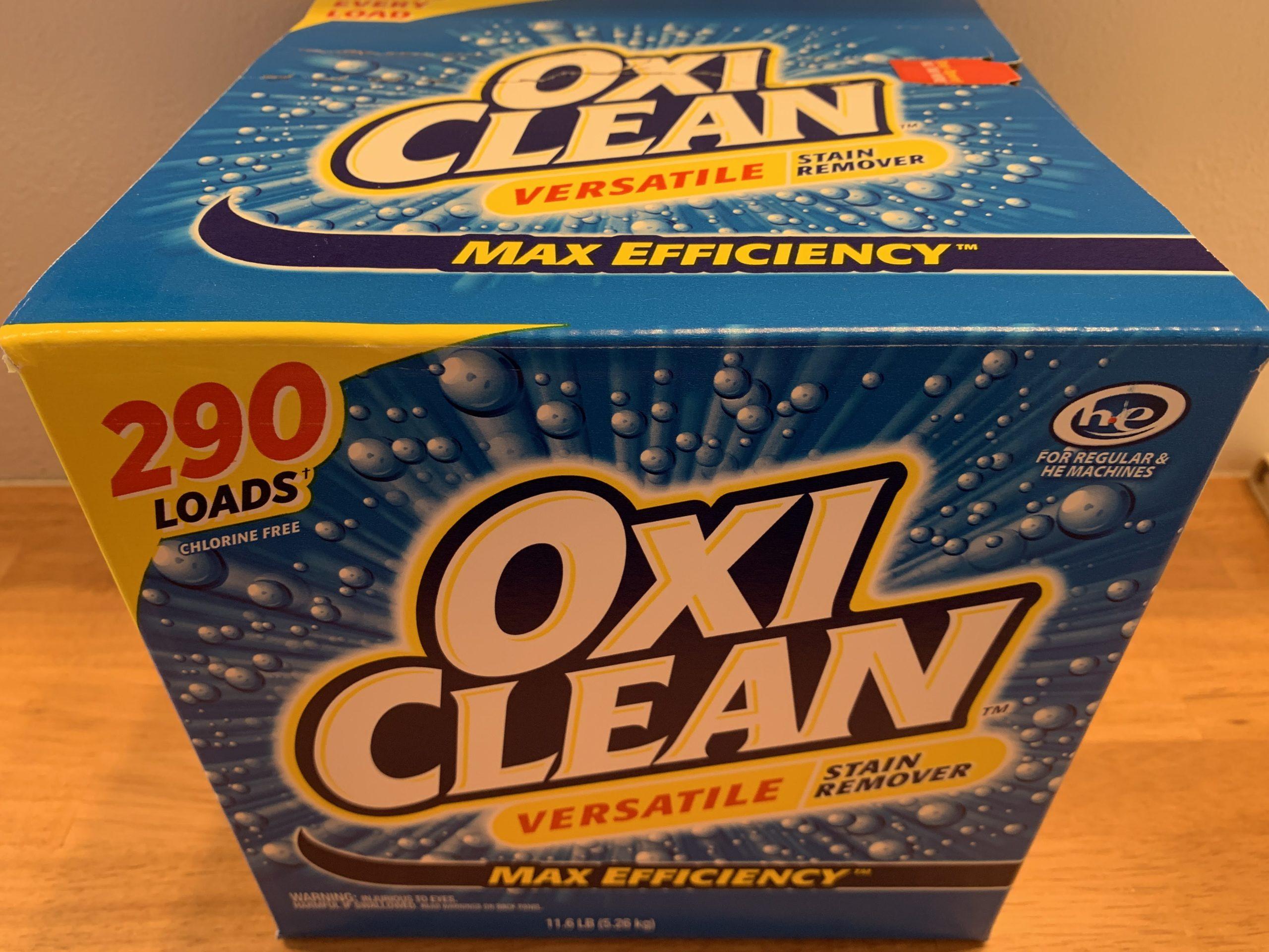 コストコのオキシクリーンでズックのつけ置き洗い:効果や値段はいくら?