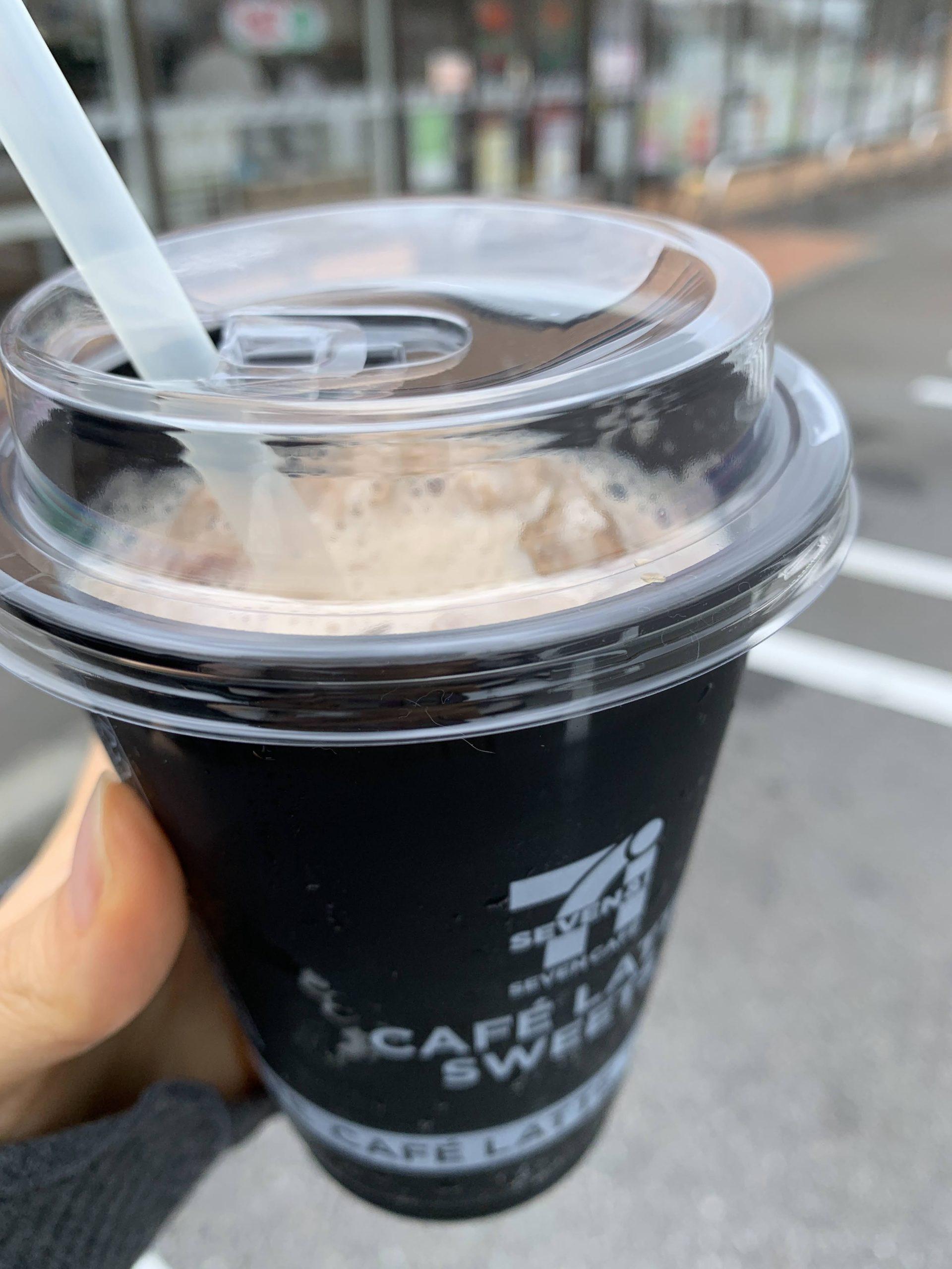 アイス カフェラテ セブン セブンにカフェラテスイーツ