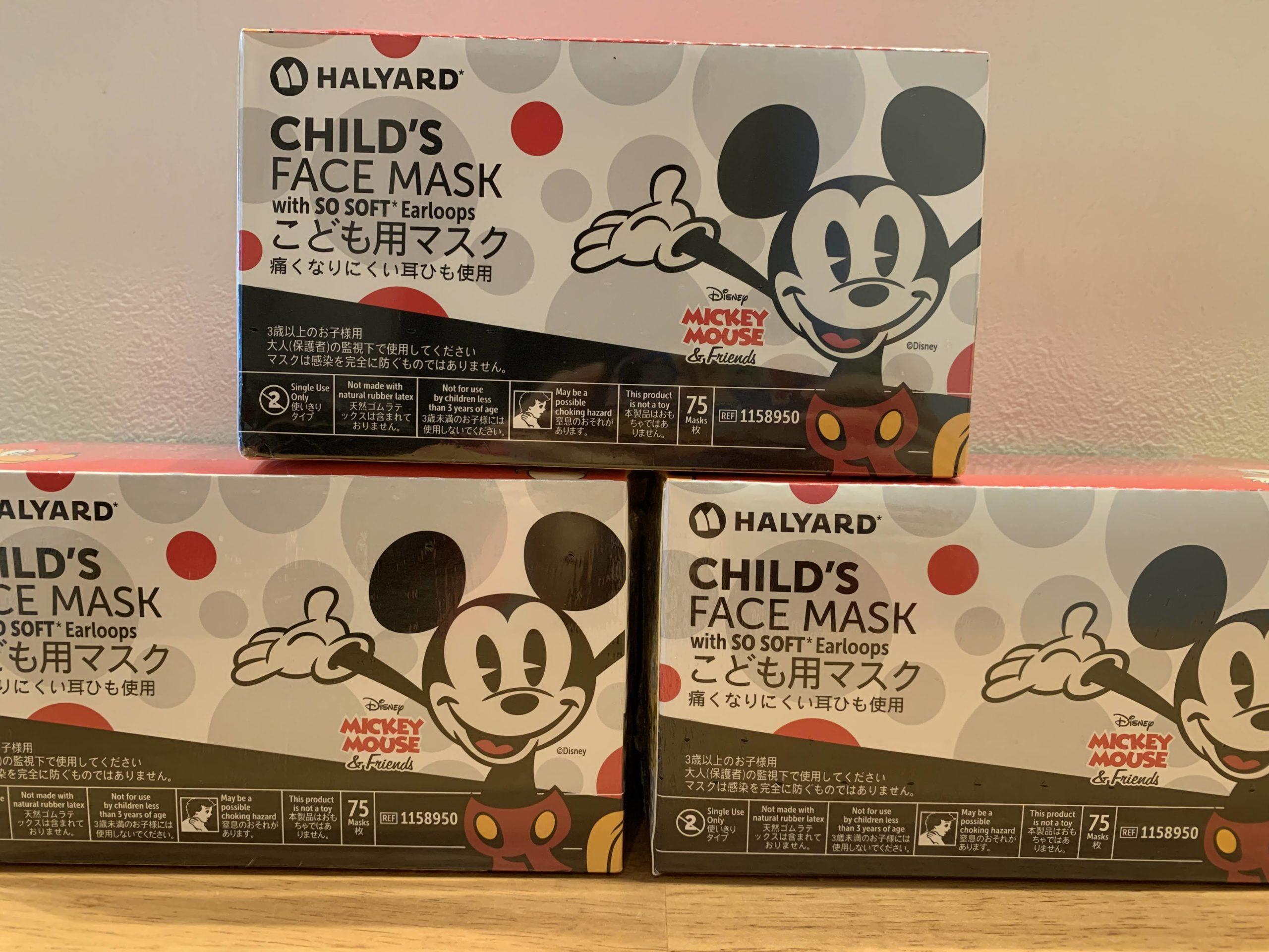 コストコのディズニーマスクが大量入荷?子供マスクのおすすめは?