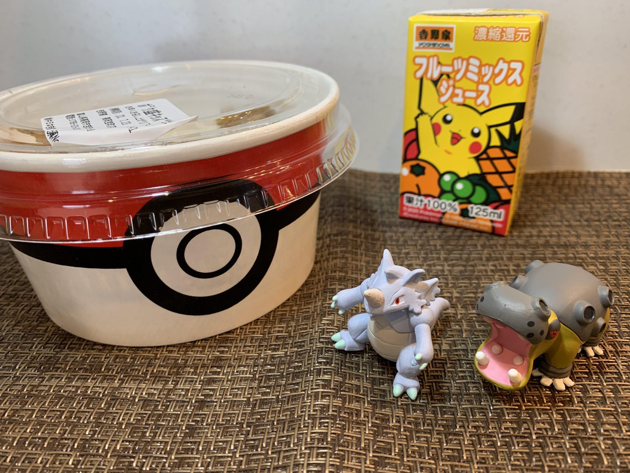 吉野家×ポケモンコラボ(ポケ盛牛丼)第2弾買ってみた:フィギュアは何が当たった?