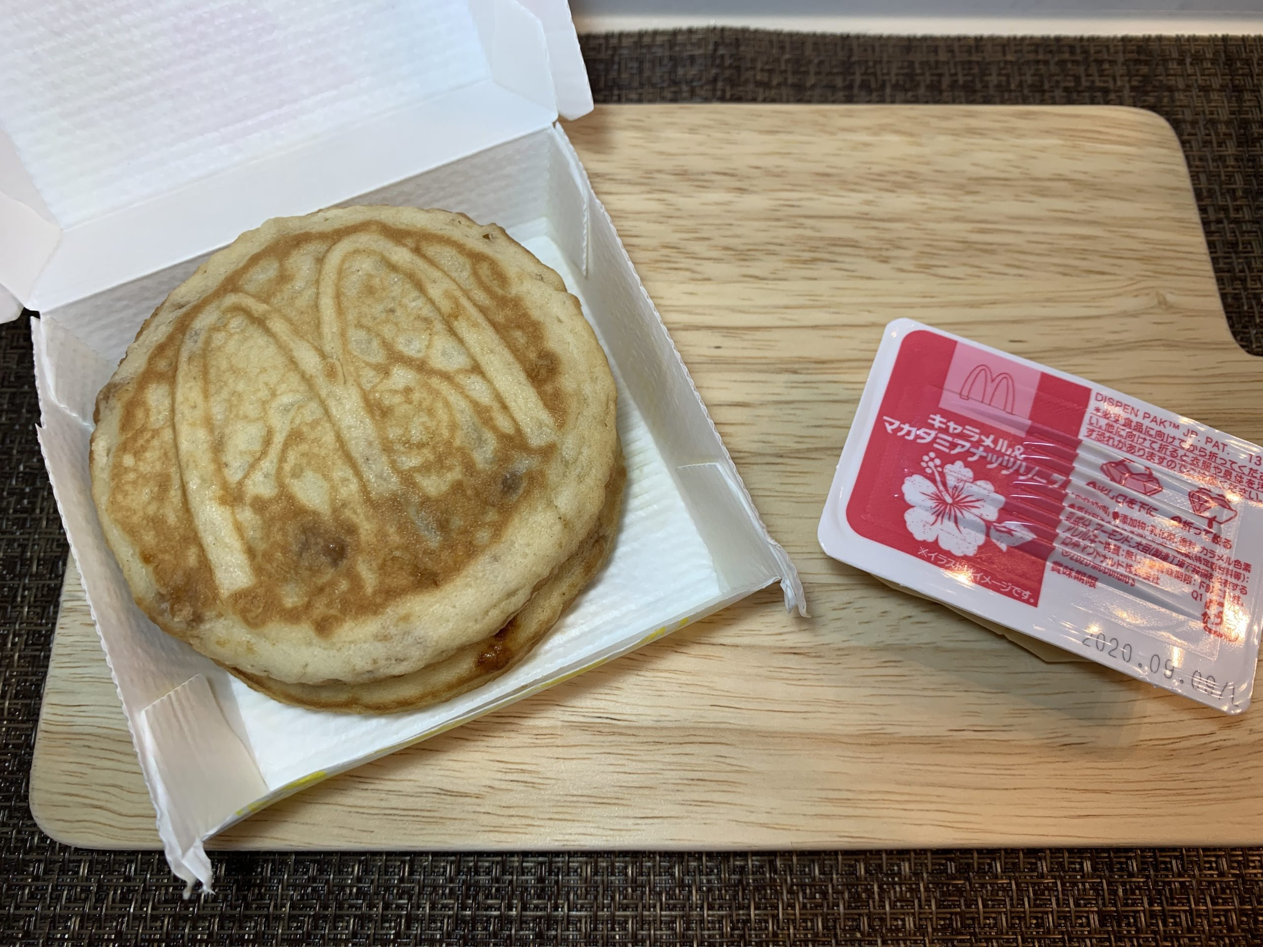 マックのハワイアンパンケーキは美味しいのか?値段やカロリー&実食レビュー