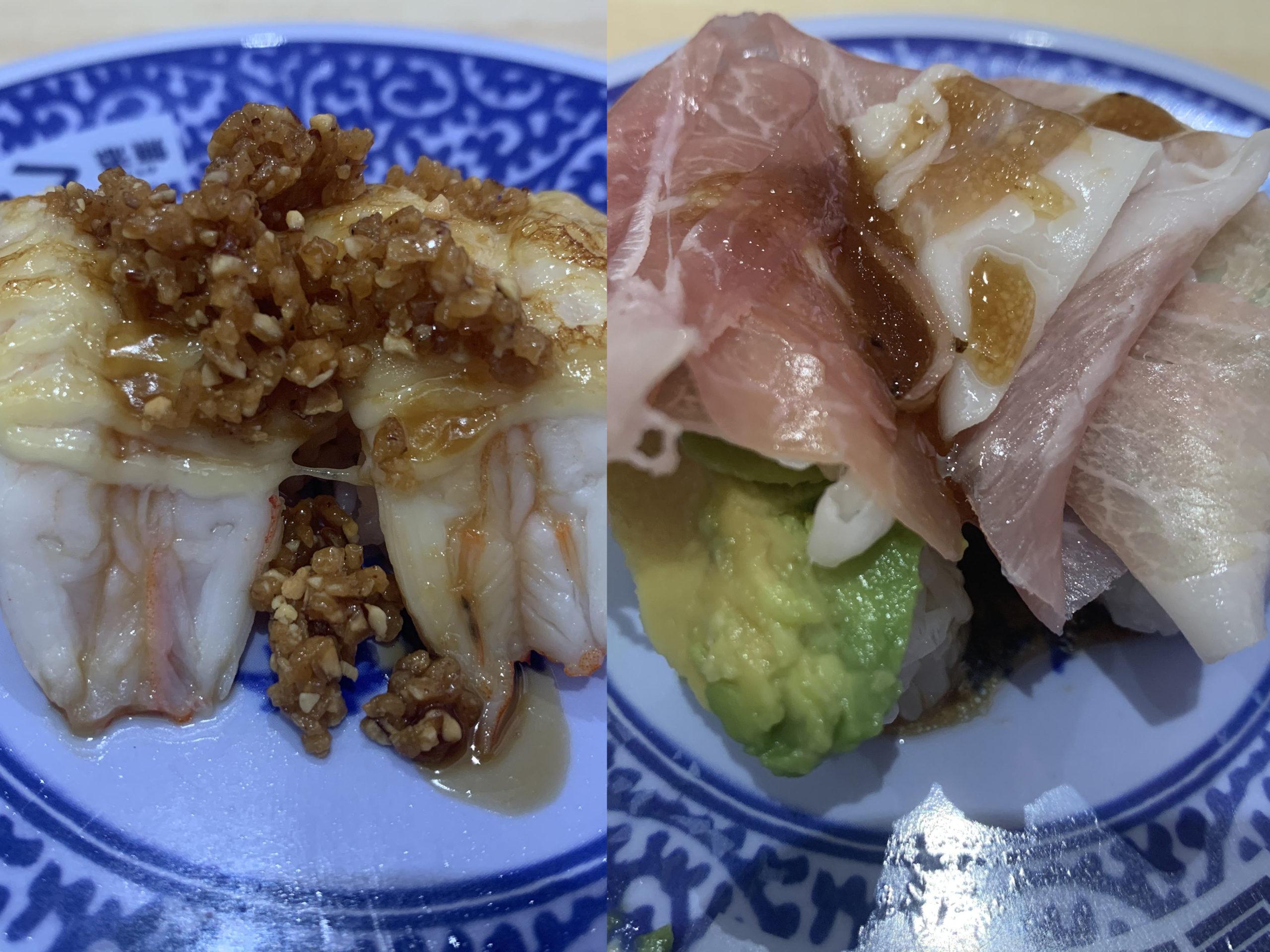 くら寿司のえびキャラメリーゼ&生ハムアボカドが美味しかった:実食レビュー