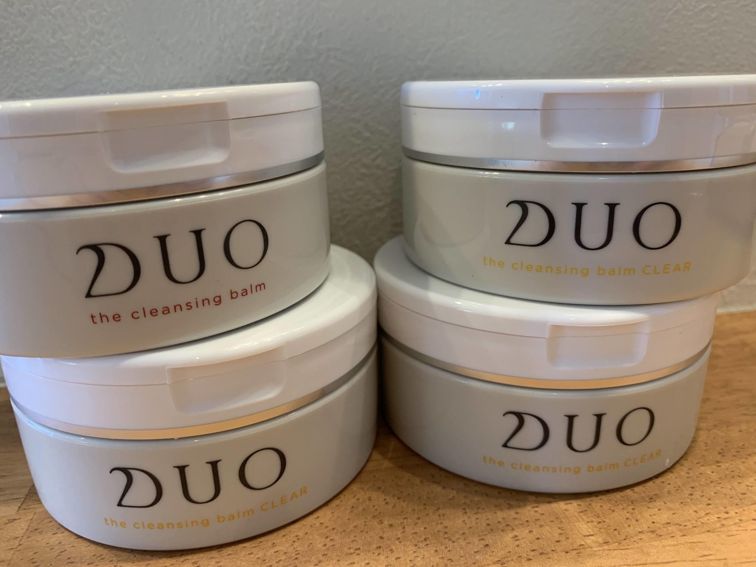 DUOクレンジングバームを1年間使ってみて毛穴は綺麗になったのか?写真で比較してみた