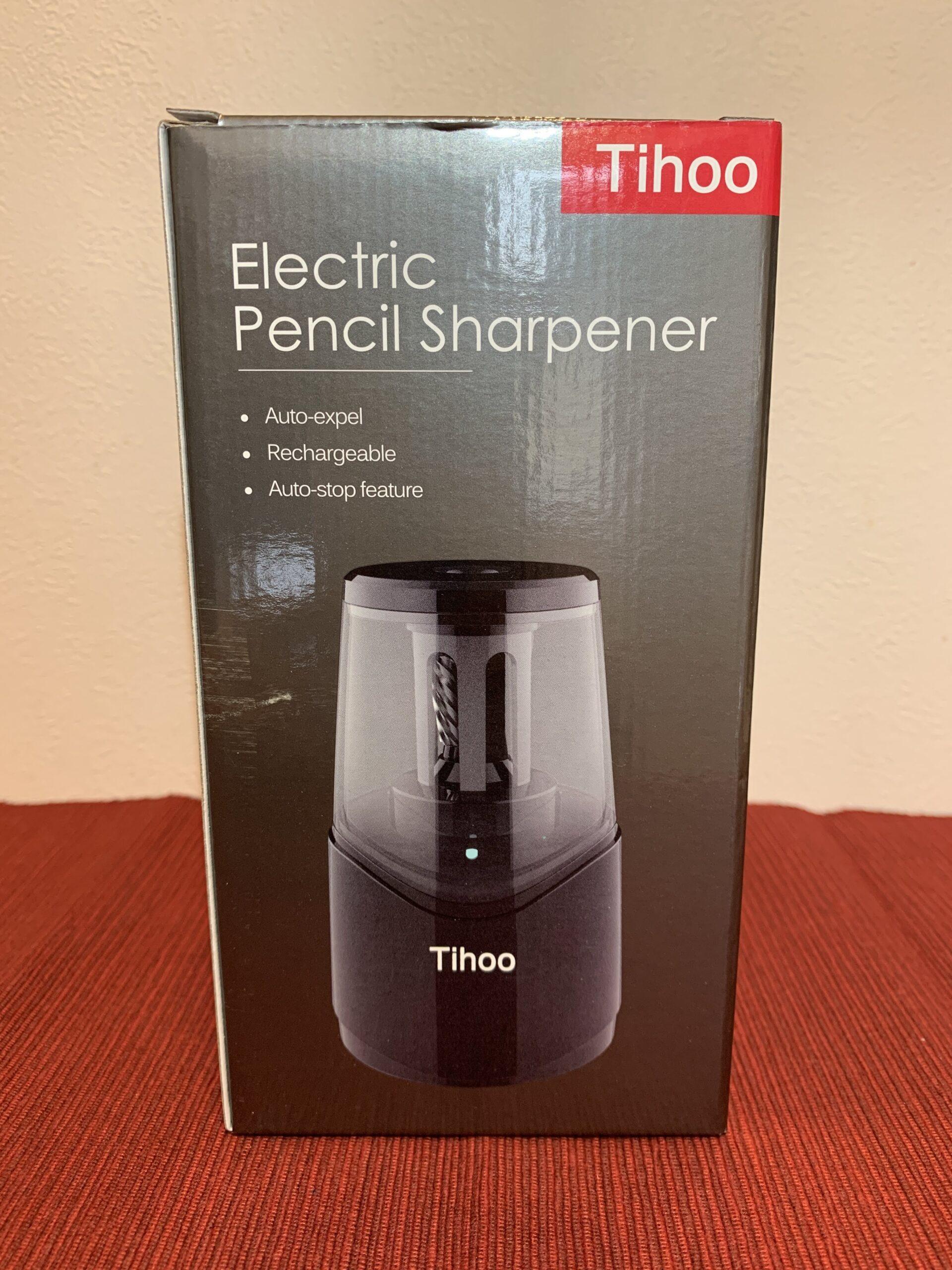 鉛筆削り電動(Tihoo電動シャープナー)USB充電の使い心地は?