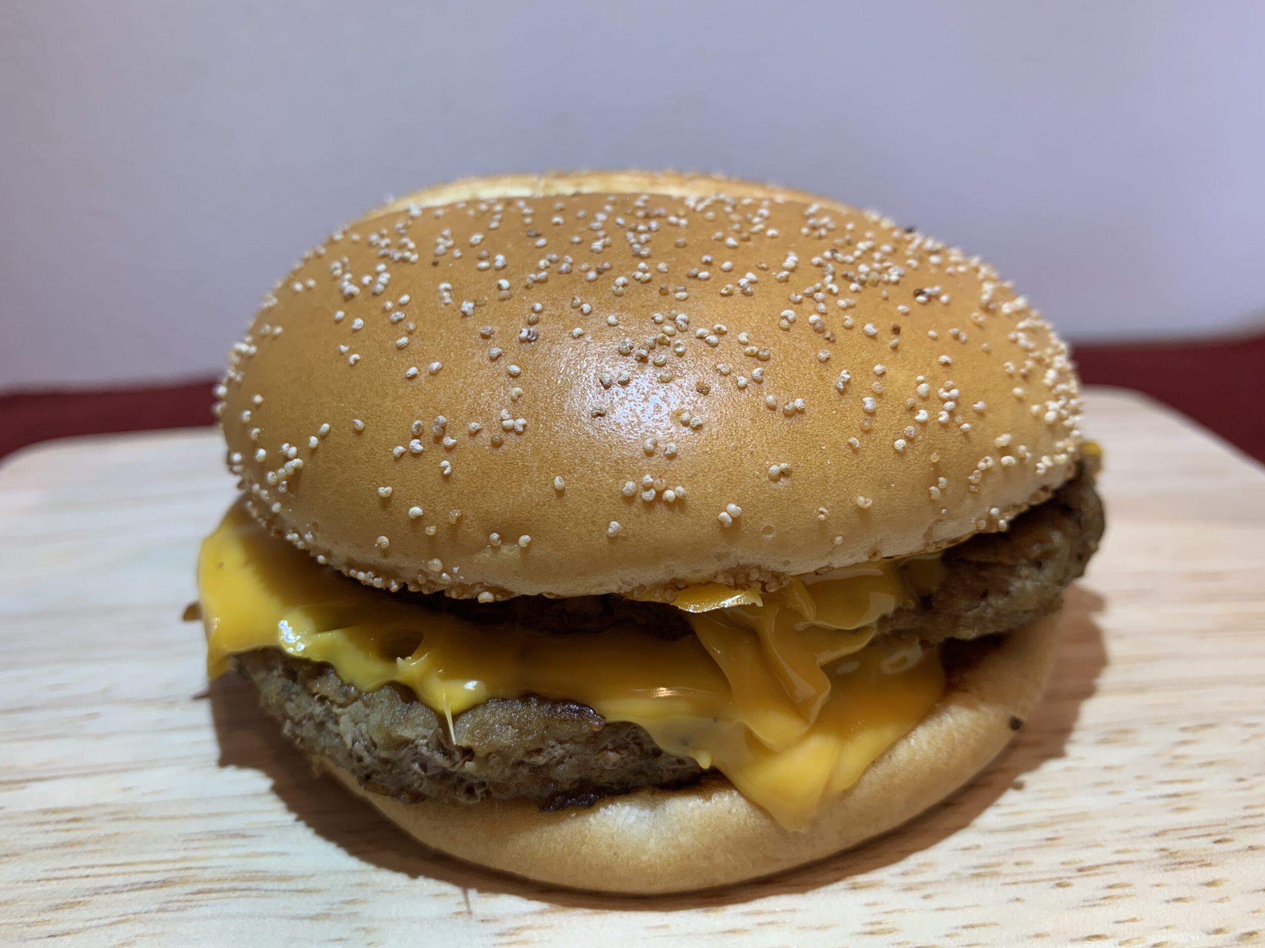 マックサムライバーガー:炙り醤油風ダブル肉厚ビーフのカロリーは?美味しかった実食レビュー