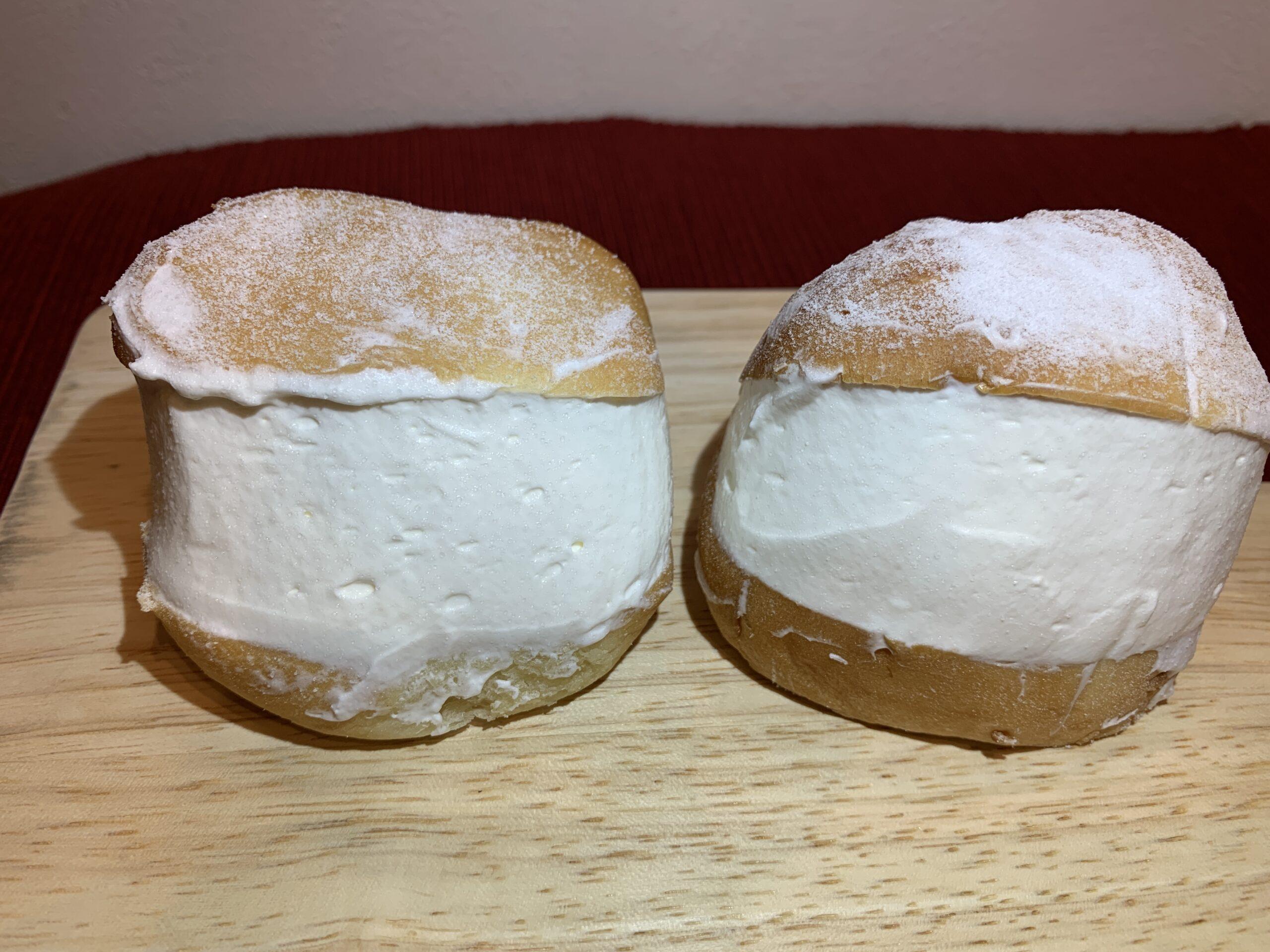 コストコパンでマリトッツオ作ってみた:マスカルポーネロール
