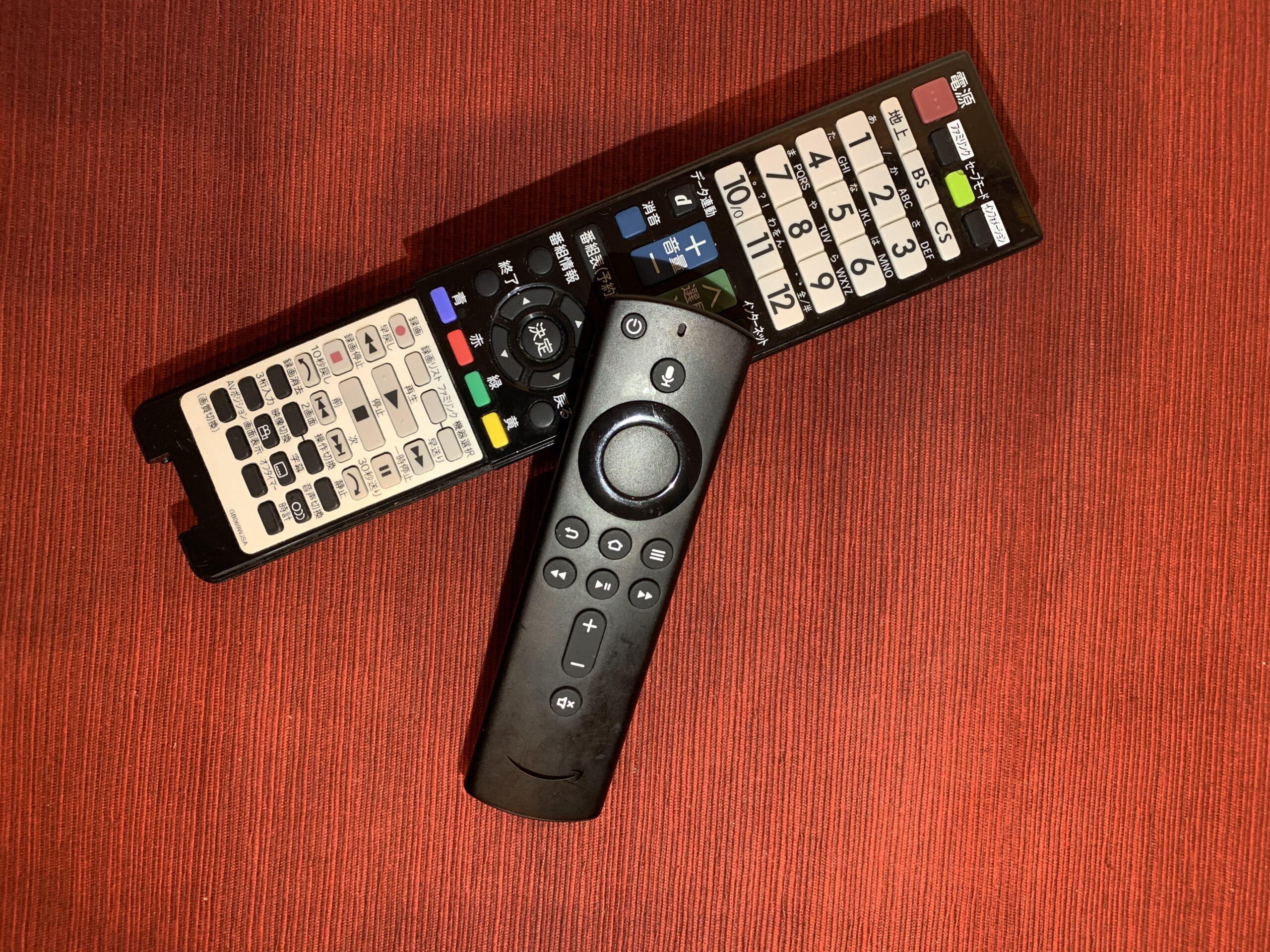 Fire TV Stickを繋げるとテレビリモコンが動かない?対処法