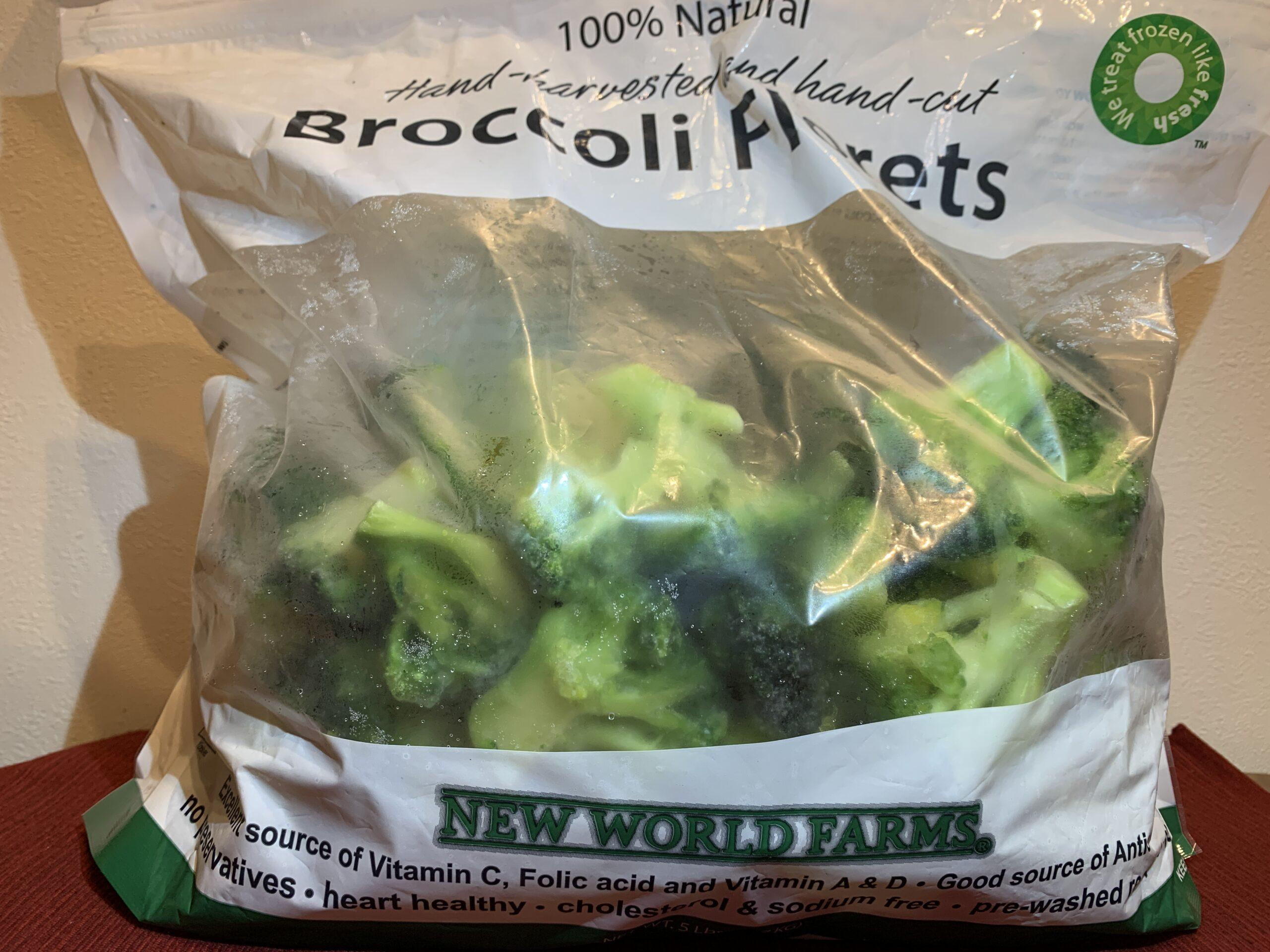 コストコ冷凍ブロッコリーの解凍法、食べ方、水っぽい?虫は?