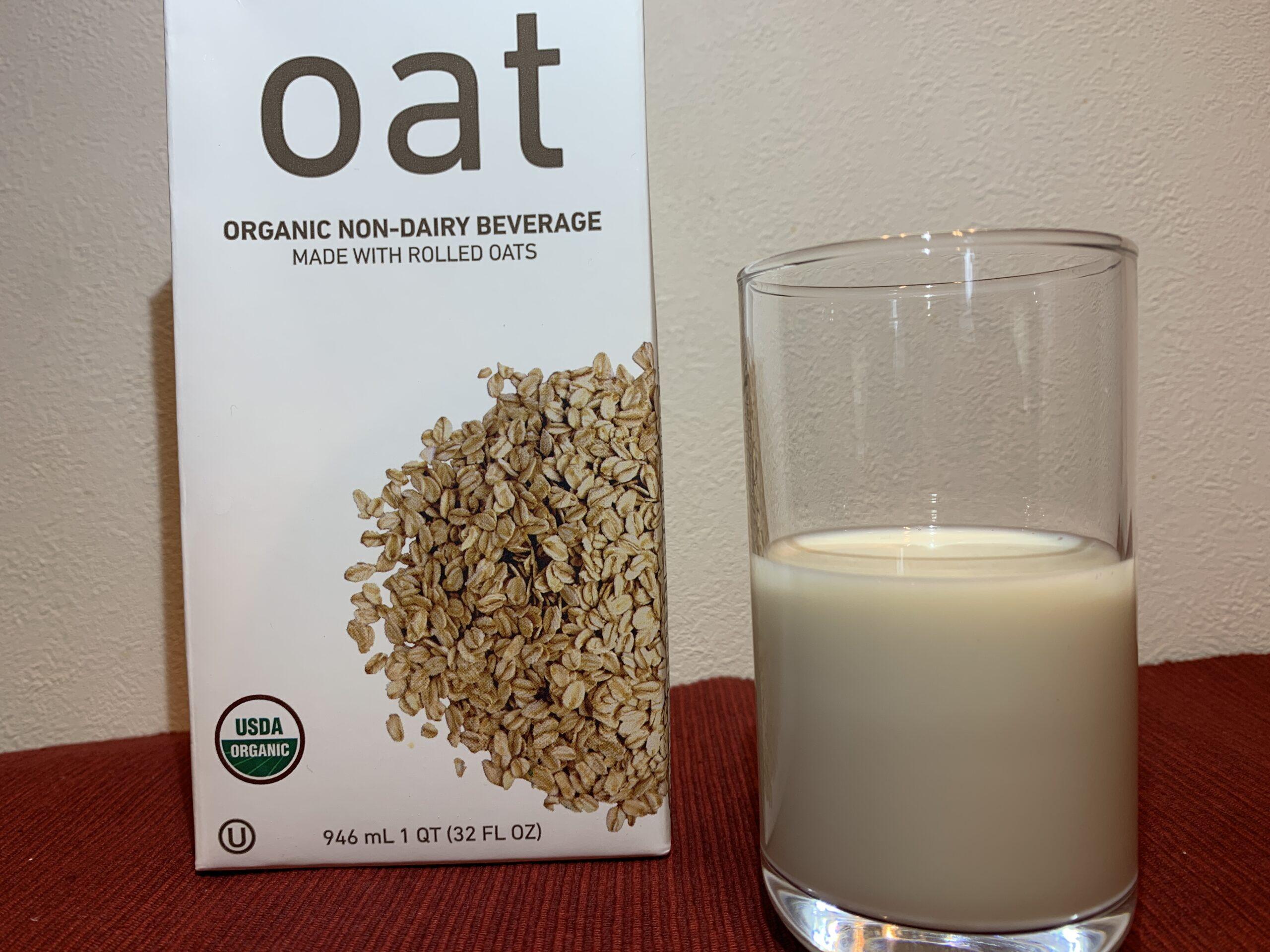 コストコのオーツミルク(有機オーツ飲料)の値段やカロリーは?